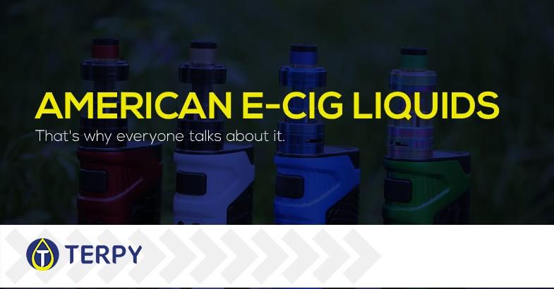 American e cigarette liquids