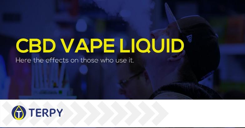 CBD liquid for e cigarette