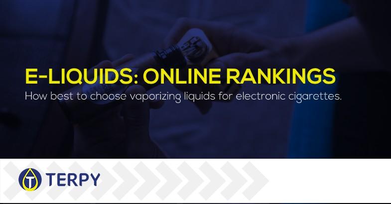 Electronic Cigarette Liquid online Rankings