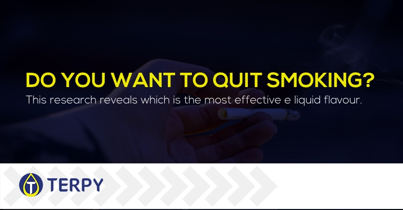 BEST E liquid FLAVOUR TO STOP SMOKING