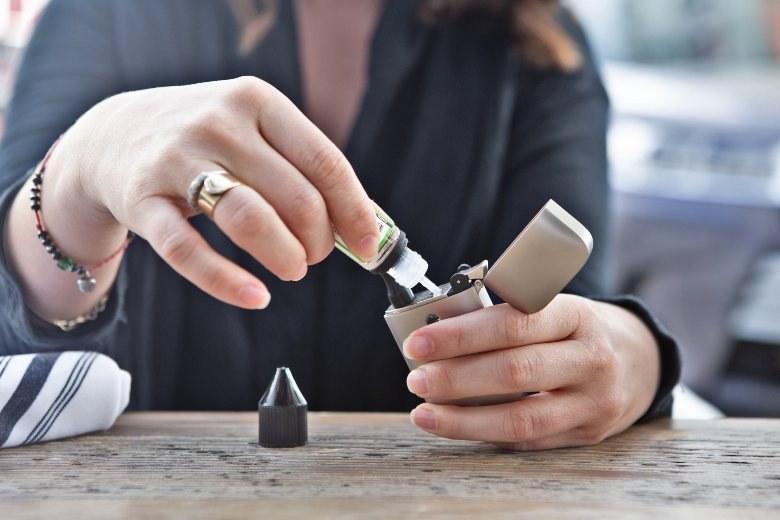 CBD e liquid for electronic cigarette