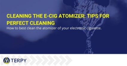 Cleaning the E-Cig atomizer: tips for perfect cleaning