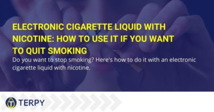 Electronic cigarette liquid with nicotine how to use it if you want to quit smoking