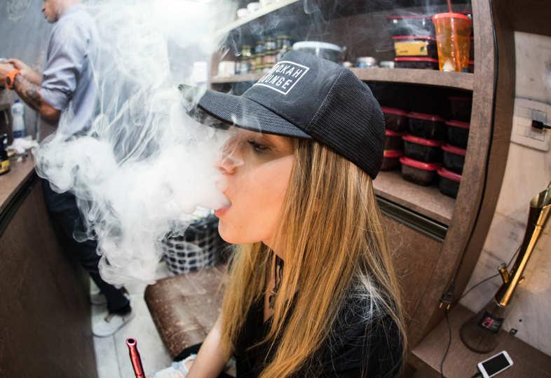 Electronic cigarette liquid with nicotine