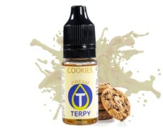 bottle of cookies flavours with biscuits taste