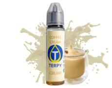 Coffee cream taste of e cigarette liquid