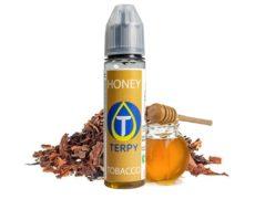 Honey tobacco e-liquid for e-cigarettes