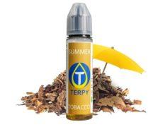 Summer flavored vape liquid bottle