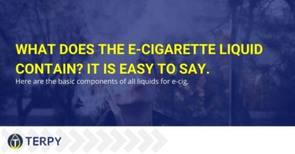 What does the e-cigarette liquid contain? It is easy to say.