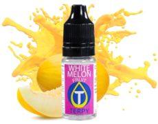 Bottle of flavour vape with fruit taste white melon