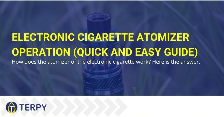 This is how the e-cigarette atomizer works